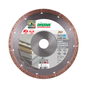 cumpără Disc diamant Dista 1A1R 200x1,3x10x25,4 Hard ceramics Advanced în Chișinău