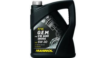 купить 5W30 MANNOL для VW 5л в Кишинёве