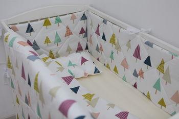 купить Комплект постельного белья Happy Baby Trees (6 ед.) в Кишинёве