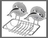 купить Мыльница Дельфин хром 291319 в Кишинёве