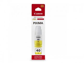 Ink Bottle Canon INK GI-40 Y, Yellow, 70ml for Canon Pixma G6040, G5040, GM2040