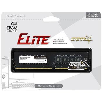 32GB DDR4 Team Elite 32GB DDR4 (TED432G3200C2201) PC4-25600 3200MHz CL22, Retail (memorie/память)