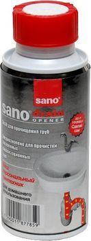 Средство для прочистки канализации Sano Drain 200 гр