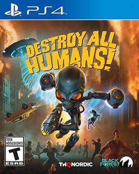 купить Gamedisc Destroy All Humans Sony Playstation 4 в Кишинёве