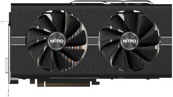 Sapphire NITRO+ Radeon RX 570 8GB GDDR5 256Bit 1340/7000Mhz, DVI-D, 2x HDMI, 2x DisplayPort, Dual-X fans (Two ball bearing), Intelligent Fan Control (IFC-III), NITRO Glow 2 RGB LED, Dual BIOS, Lite Retail