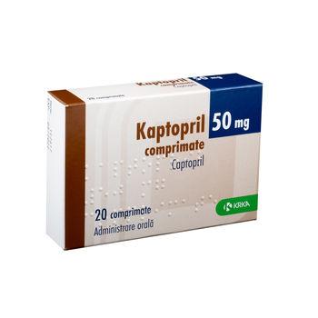 cumpără Captopril 50mg comp. N10x2 în Chișinău