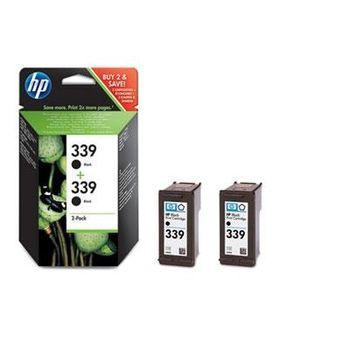 HP No.339 Black Print Cartridge 2-pack