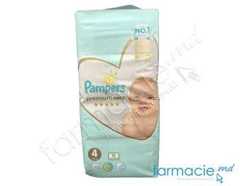 купить Scutece PAMPERS VALUE PREMIUM CARE Maxi 4 N52 в Кишинёве