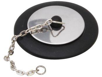 купить Пробка для раковины+цепочка Gadget Lillo D7.5сm в Кишинёве