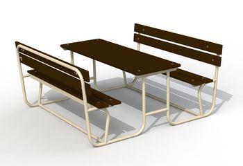 купить Стол со скамьями PTP 050 в Кишинёве