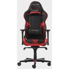 Игровое кресло DXRacer Racing GC-R131-NR, черный / красный,