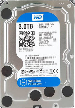 "купить 3.5"" HDD 3.0TB  Western Digital WD30EZRZ Caviar® Blue™, 5400rpm, 64MB, SATAIII в Кишинёве"