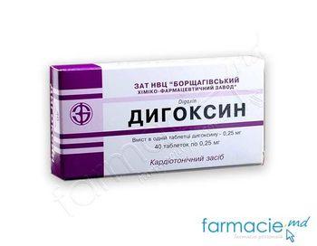 купить Digoxin 0.25mg comp. N40 (BHFZ) в Кишинёве