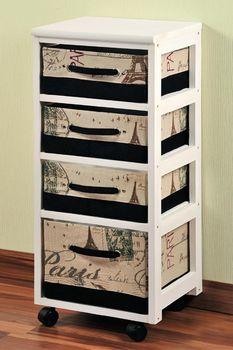 cumpără Piept de sertare din lemn 35x84x29cm 14207 în Chișinău