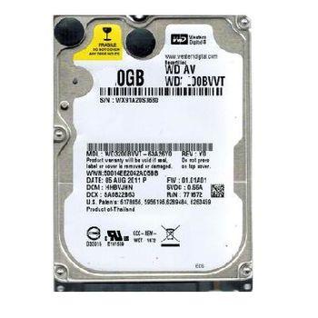 """.320GB HDD 2.5"""" Western Digital 320Gb WD3200BVVT  5400rpm 8Mb, SATAII"""