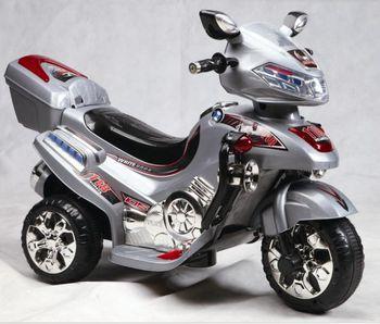 Мотоцикл c с аккумулятором RT С031(СЕРЫЙ)