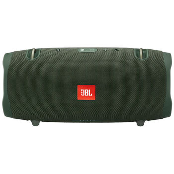 JBL Xtreme 2 Green / Bluetooth Portable Speaker, 40W (2x20W) RMS, BT Type 4.2, Frequency response:  55Hz–20kHz, IPX7 Waterproof, Speakerphone, 10000mAh power bank USB 5V/2A ,  JBL Connect+, Power supply: 19V 3A, Battery life (up to) 15 hr