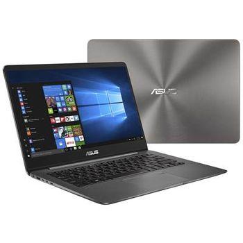 "cumpără ""NB ASUS 14.0"""" Zenbook UX430UA Grey (Core i7-8550U 8Gb 512Gb Win 10) 14.0"""" Full HD (1920x1080) Non-glare, Intel Core i7-8550U (4x Core, 1.8GHz - 4.0GHz, 8Mb), 8Gb (OnBoard) PC3-14900, 512Gb M.2, Intel HD Graphics, micro HDMI, 802.11ac, Bluetooth, 1x USB 3.1 Type C, 1x USB 3.0, 1x USB 2.0, Card Reader, HD Webcam, Windows 10 Home RU, 3-cell 50 WHrs Polymer Battery, Illuminated Keyboard, 1.3kg, Metal Grey"" în Chișinău"