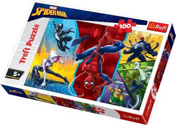 "Пазлы ""100"" - ""Upside down / Disney Marvel Spiderman"", код 42172"