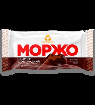 """Мороженое """"МОРЖО"""" Шоколадное на палочке 80гр"""