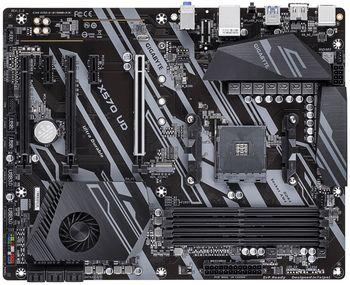 GIGABYTE X570 UD, Socket AM4, AMD X570, 10+2Phases, Dual 4xDDR4-4000, APU AMD graphics, HDMI 2.0, 1xPCIe 4.0 X16, 6xSATA3, RAID, 2xM.2 PCIe 4.0, 2xPCIeX1, ALC887 HDA, GbE LAN, 8xUSB3.2 Gen1, RGB Lightning, ATX