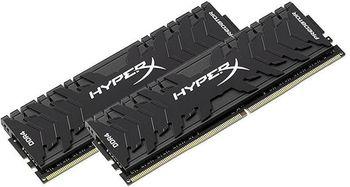 16GB (Kit of 2*8GB) DDR4-3333 HyperX® Predator DDR4 (Dual Channel Kit), PC26660, CL16, 1.35V, BLACK heat spreader, Intel XMP Ready (Extreme Memory Profiles)