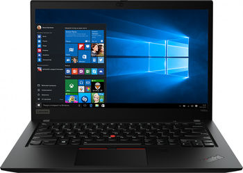 "Lenovo ThinkPad T490 14.0"" FHD IPS 250nits (Intel Core i5-8265U, Intel UHD Graphics 620, 16GB DDR4, 512GB SSD M.2 2280 PCIe NVMe, 11ac, 2x2 + BT5.0, 3Cell BT 50WH, Backlit KB ENG/RUS, 3YR Worldwide Warranty, 65W USB-C, Win10Pro,1.55 kg)"
