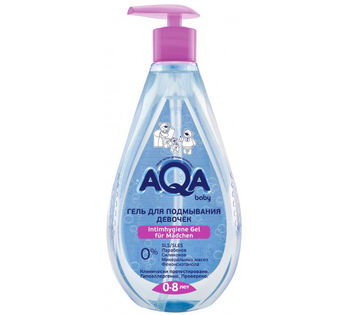 Гель для подмывания девочек Aqa baby 250 мл