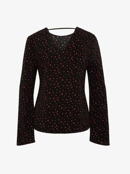 Блуза TOM TAILOR Чёрный