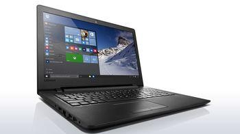 """Lenovo IdeaPad 110-15IBR Black 15.6"""" HD (Intel® Celeron® Dual Core N3060 up to 2.48GHz (Braswell), 4Gb DDR3 RAM, 500GB HDD, Intel® HD Graphics 400, w/o DVD, CardReader, WiFi-N/BT4.0, 0.3M WebCam, 3cell, RUS, DOS, 2.3 kg)"""