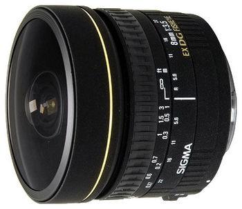 купить Prime Lens Sigma AF   8mm f/3.5 EX DG CIRCULAR FISHEYE F/Nik в Кишинёве