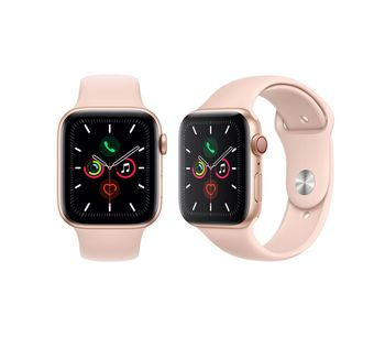 Smartwatch Apple Watch Series 5 40mm Gold Aluminium Case With Pink Sand Sport Band (MWV72)