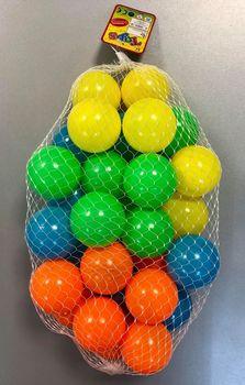 Мячи для сухого бассейна (30 шт.) d=7 см 7030 X (2529)