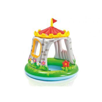 купить Intex Детский надувной бассейн Замок 1-3 лет 122х122, 68 Л в Кишинёве