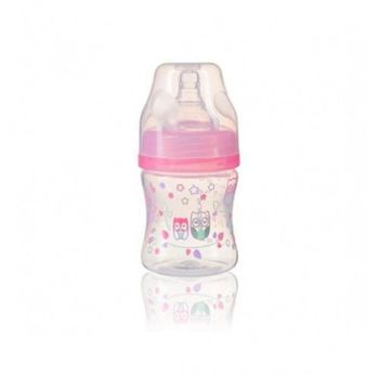 Антиколиковая бутылка с широким горлышком BabyOno 120 ml light Blue