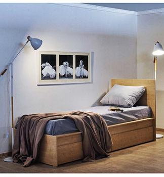 Кровать Linia Kids 800 клён