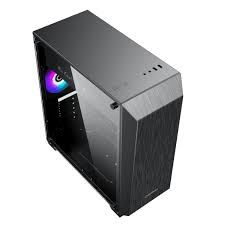 Корпус ATX GAMEMAX Nova N5, без блока питания, 1x120мм, вентилятор FRGB LED, светодиодная лента ARGB, TG, USB 3.1, черный