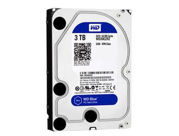 "3.5"" HDD 3TB Western Digital Blue WD30EZRZ, 5400 rpm, SATA3 6GB/s, 64MB (hard disk intern HDD/внутренний жесткий диск HDD)"