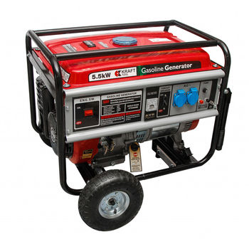 купить Бензиновый генератор 5.5kW KTG5500M KraftTool в Кишинёве