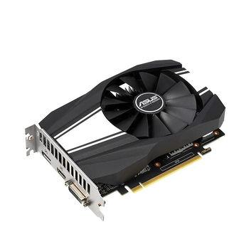 Placa video ASUS PH-GTX1660-6G, GeForce GTX1660 6GB GDDR5, 192-bit, GPU/Mem clock 1815/8002MHz, PCI-Express 3.0, DVI/HDMI/Dislpay Port (placa video/видеокарта)