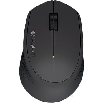 Mouse Logitech Wireless M280 Black, Optical Mouse, Nano receiver, Retail