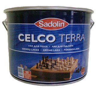 Sadolin Лак Celco Terra 20 Полуматовый 10л