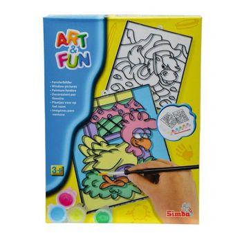 купить Набор для творчества Витражные разрисовки, в ассортименте 6330570 в Кишинёве