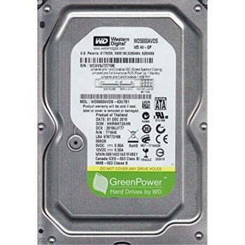 "HDD 3.5"" Western Digital 500GB WD5000AVDS  AV-GP™, IntelliPower, 32Mb, SATAII"