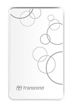 "2.5"" External HDD 2.0TB (USB3.0), Transcend StoreJet 25A3, White, Durable and Shock-resistant, 2.5"" External HDD 2.0TB (USB3.0), Transcend StoreJet 25A3, Black, Durable and Shock-resistant, Sleek, mirror-like exterior enhances tactile and visual ap"