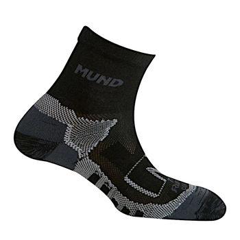 cumpără Sosete Mund Trail Running, Correr, black, 335/12 în Chișinău