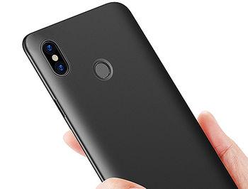 860017 Husa Screen Geeks Solid Xiaomi Redmi S2, Black (чехол накладка в асортименте для смартфонов Xiaomi)