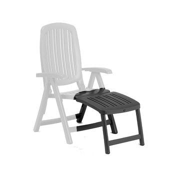 Подставка для ног для кресла Nardi POGGIAPIEDE 45 ANTRACITE 40296.02.000 (Подставка для ног для кресла Nardi Salina)