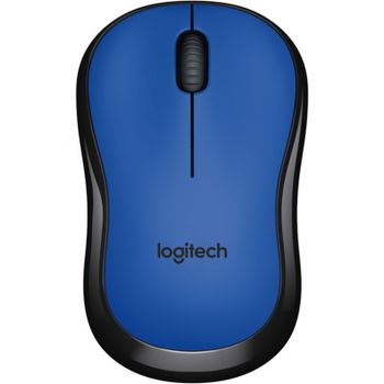 Logitech Wireless Mouse M220 Blue, Optical Mouse for Notebooks, Nano receiver, Blue, Retail