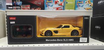 Машина р/у RASTAR 1:18 MercedesBenz SLS AMG, Код 54100